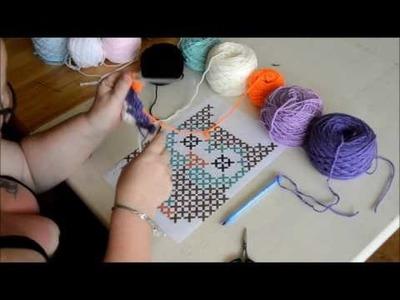 Graphgan c2c part 1 -Crochet- Tutorial - English