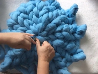 How to arm knit a cat bed with BeCozi