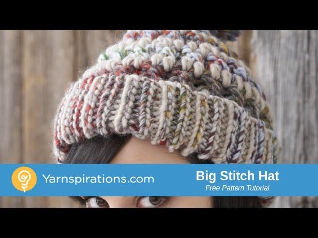 How To Crochet a Hat: Big Stitch Hat