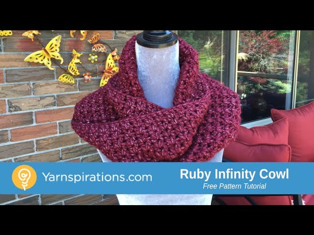 How To Crochet A Ruby Cowl