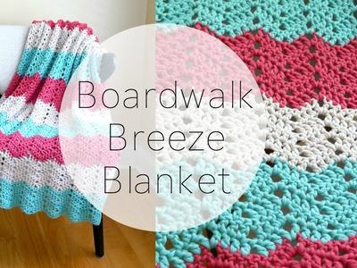 How To Crochet the Boardwalk Breeze Blanket, Episode 324