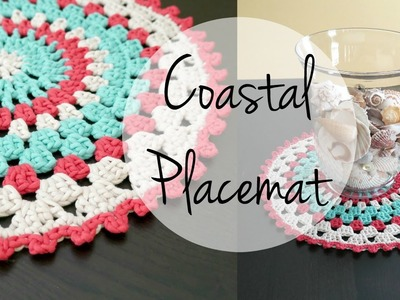 How To Crochet the Coastal Placemat, Episode 327