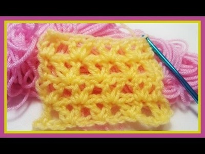 "How to Crochet w. ""Offset V-Set"""