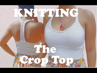 How to Knit a Crop Top for Summer (Fast & Easy Tutorial)