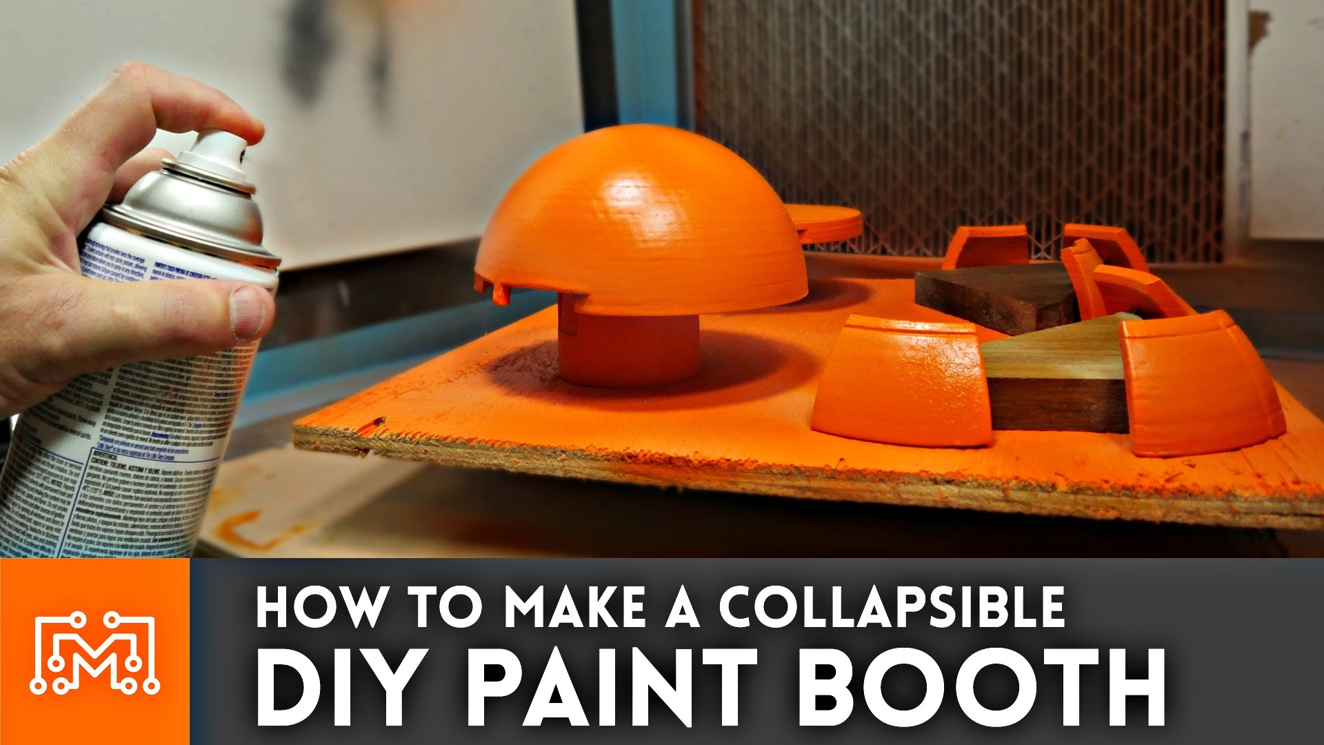 How to make a DIY Paint Booth