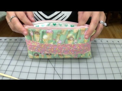 How To Make A Ruffled Clutch Wallet