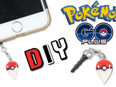 How to make DIY Pokemon Go Plus Accessory Clay Tutorial