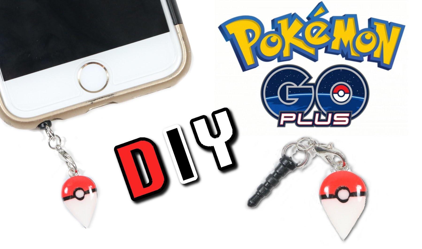 How to make DIY Pokemon Go Plus Accessory Clay Tutorial