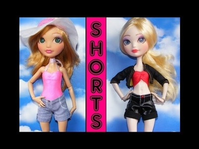 How to make Shorts for Dolls Tutorial DIY