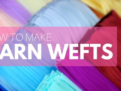 How to Make Yarn Wefts for Your Doll Wig Projects