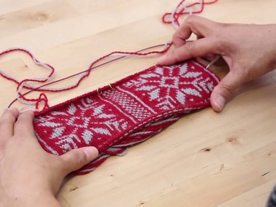 How to Swatch in the Round for Fair Isle Knitting