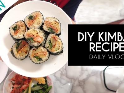 I NEED MY KIMBAP | My DIY Kimbap Recipe Vlog in Japan
