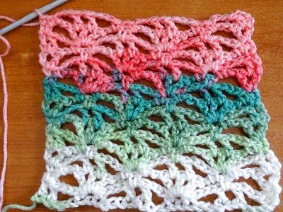 Lacy Stitch 1 - Crochet Tutorial