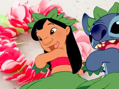 Lilo & Stitch Paper Leis | Disney DIY