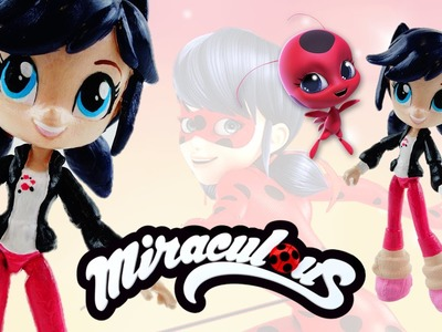 MARINETTE - Miraculous Ladybug & Cat Noir My Little Pony Custom Doll DIY from Equestria Girls Mini