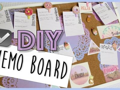 Memo Cork Board DIY | Back To School 2016