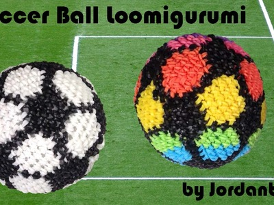New Soccer Ball Loomigurumi Amigurumi Rainbow Loom Band Crochet Hook Only Futbol Football