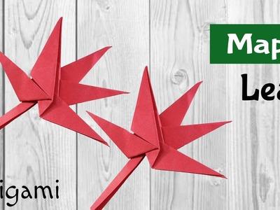 "Origami Tutorail to make ""Maple"