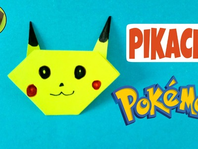 "Origami Tutorial to make ""Pikachu ( Pokemon Go) - Easy | DIY | Handmade ."