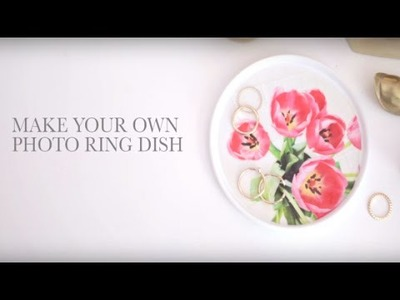 Photo Ring Dish DIY