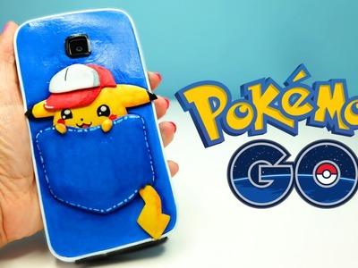 POKEMON GO INSPIRED: PIKACHU PHONE CASE DIY - Isa ❤️