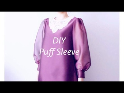 Sewing + DIY Puff Sleeve Top