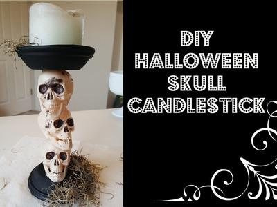 Spooky DIY Halloween Decorations: Halloween Candlestick!!