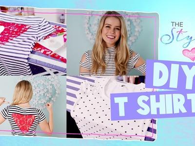 The Style Edit | Ella's DIY T-shirts | Disney Channel