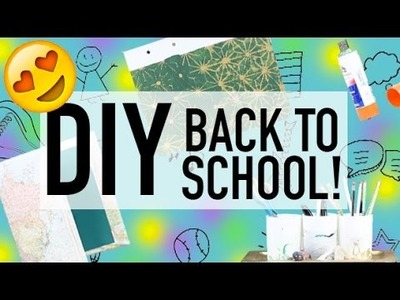 TOP 6 DIY BACK TO SCHOOL SUPPLIES YOU NEED TO TRY! 2016!