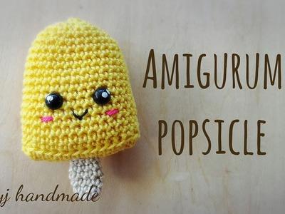 Tutorial: crochet popsicle (written pattern in the description box)