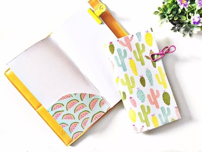 Tutorial | DIY Traveler's Notebook Insert With Pockets