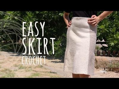Tutorial Easy Skirt Crochet