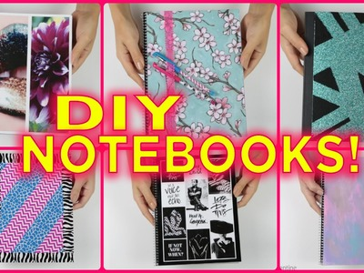 Ultimate DIY Notebooks & DIY Notebooks for Back To School