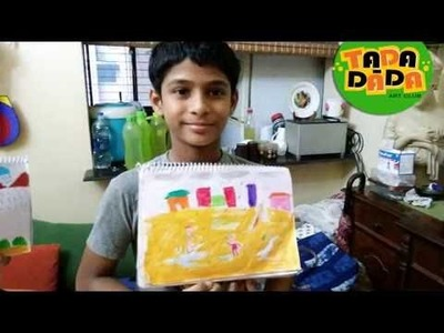 15  A Rainy Day  # Learn how to draw and paint I Childern's AcademyI Tada-dada art club