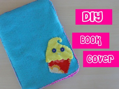 Back to School: How to Make a Fabric Book Cover