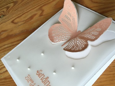 Beautiful Butterfly Cut-out How-to