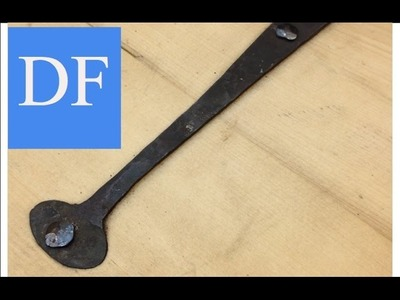 Blacksmithing for Beginners -  How To Install Chest Hinges