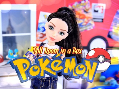 DIY - How to Make:  Doll Room in a Box: POKEMON - Handmade - Room - Decor