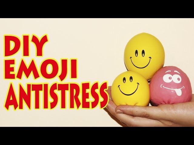 DIY - How To Make Emoji Antistress Balloons