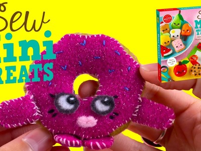 DIY Shopkins Stuffed Toy D'lish Donut | How To Make At Home