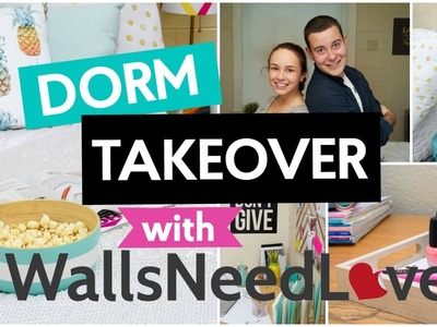 DORM TAKEOVER : HOW TO DECORATE YOUR DORM