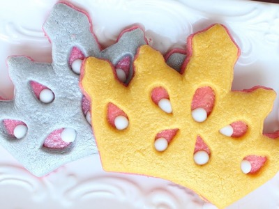 Easy Princess Cookies - Easy Tiara Cookies - How to make crown cookies