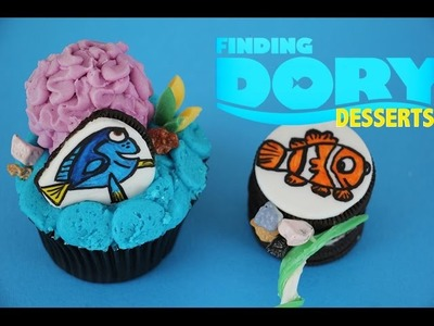 Finding Dory Cake Toppers, Cupcakes and Nemo Pops! | How to | My Cupcake Addiction