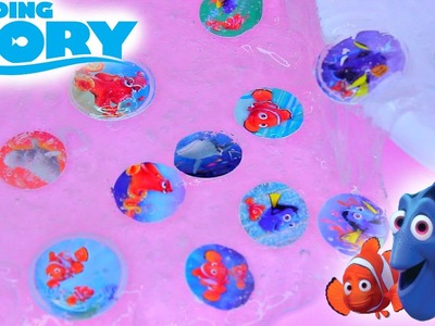 Finding Dory Slime! DIY How to Make Disneys Finding Dory Slime