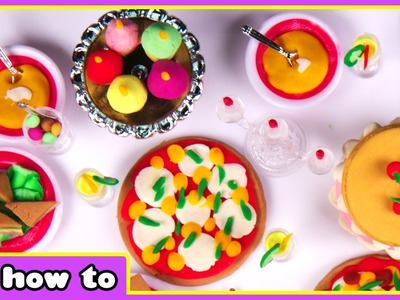 Frozen Play Doh Banquet With Anna And Elsa   How To Make Play Doh Food by HooplaKidz How To
