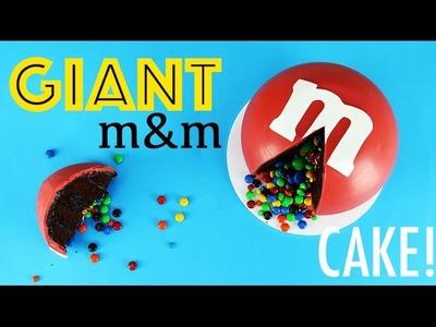 GIANT m&m's Cake | How to Make a Giant Sized m&m | My Cupcake Addiction