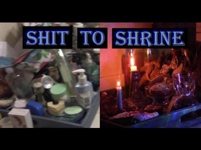 How To Create A Bathroom Water Shrine | Shit To Shrine