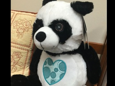 How to Embroider a Stuffed Animal