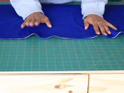 How To Gather Fabric with Cooking Twine
