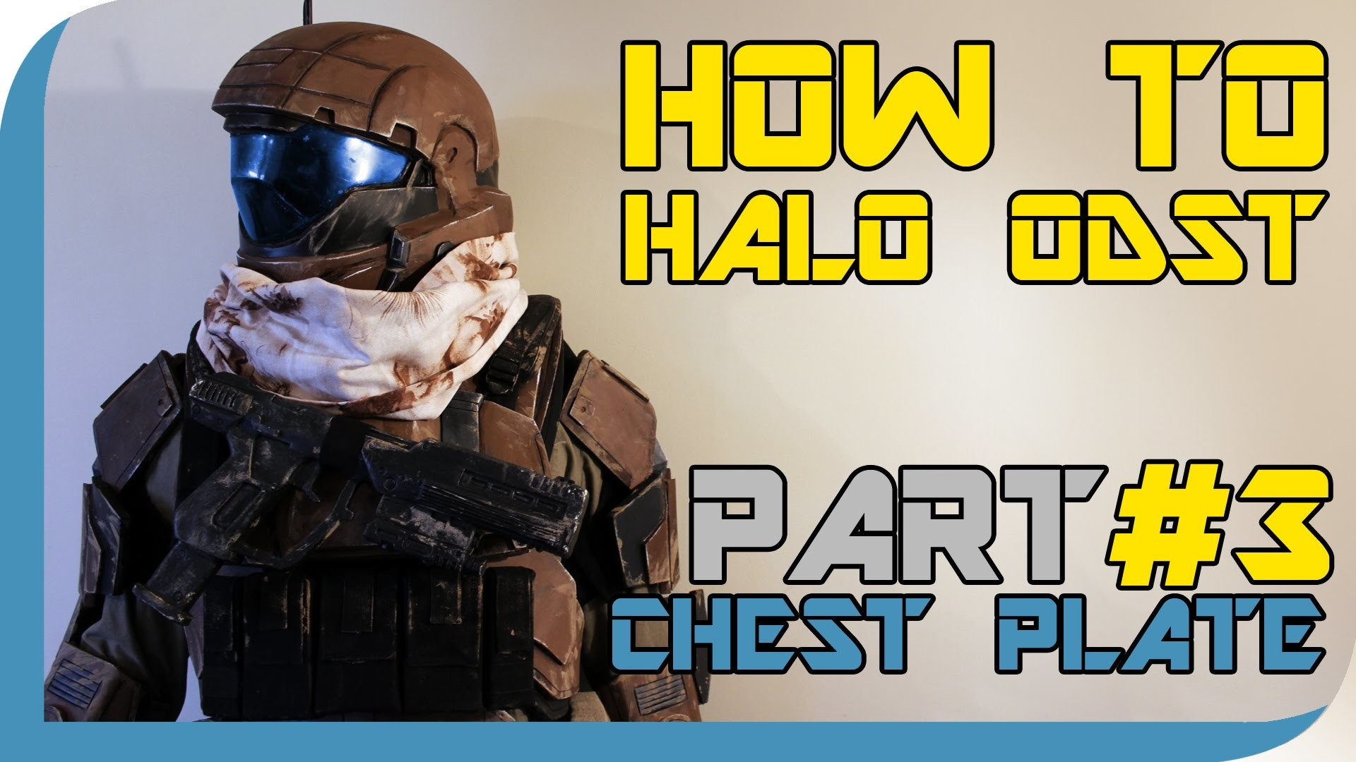 HOW TO: Halo Reach ODST Costume  ( PART 3 : Chest Plate )